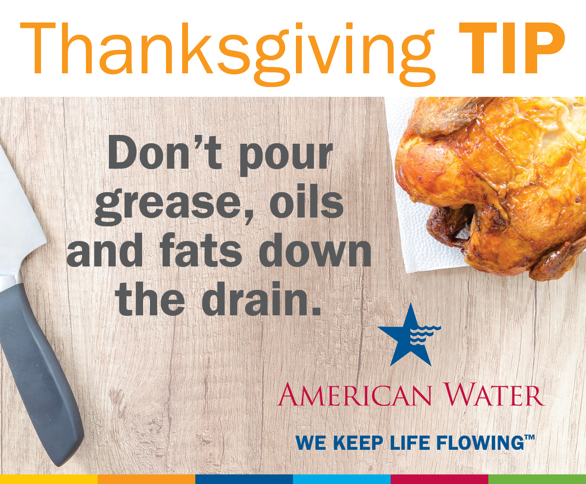 Give Thanks For Water Conservation