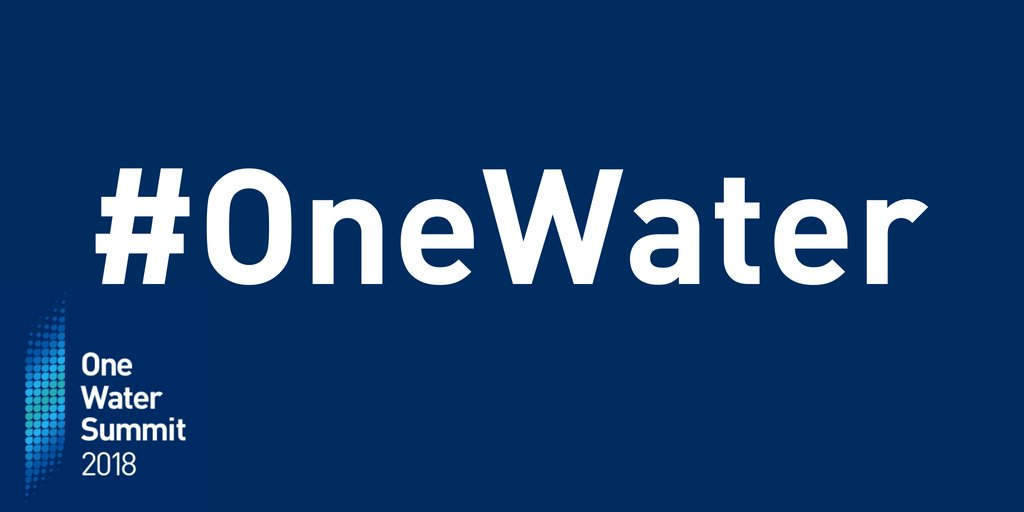 One Water Summit: The Water Industry's Big Game