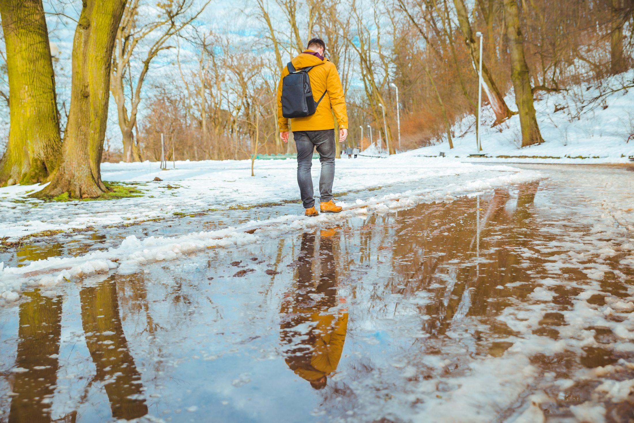 Ice dams and basement mildew—that's the last thaw!